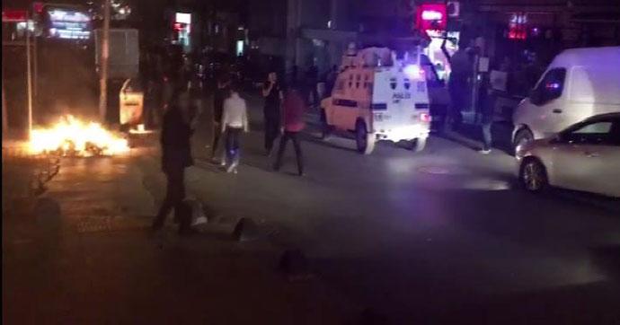 Sultangazi'de polis müdahalesi