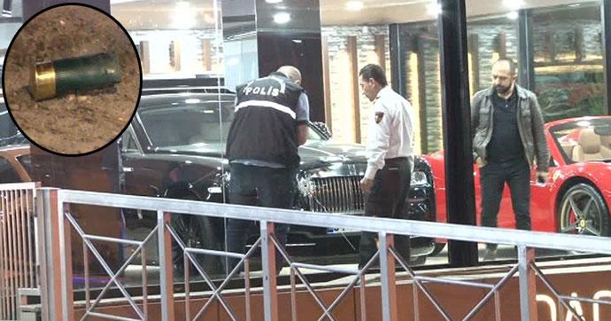 Beşiktaş'ta lüks oto galerisine silahlı saldırı