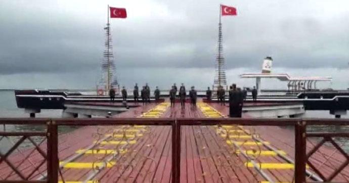 Samsun'da 19 Mayıs kutlamalarına yağmur engeli