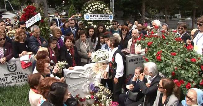 Türkan Saylan mezarı başında anıldı