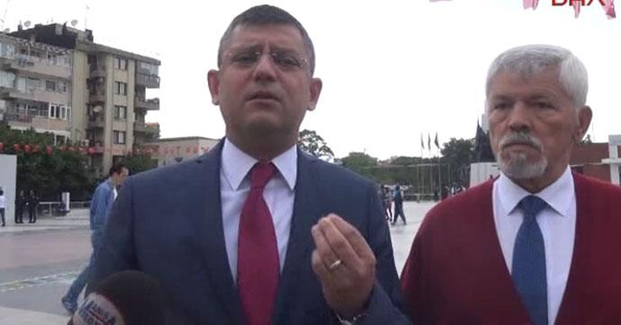 CHP'li Özel: Sözcü'ye FETÖ diyecek kadar çıldırdılar
