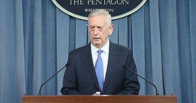 Mattis: IŞİD'in kalelerini kuşatacağız