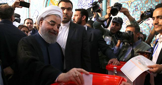 İran'da Ruhani açık ara önde