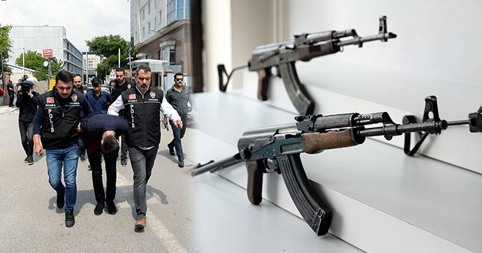 İstanbul'da Sarallar'a operasyon