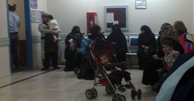 Haymana'da doğum servisine başvuran 10 kadından 8'i Suriyeli
