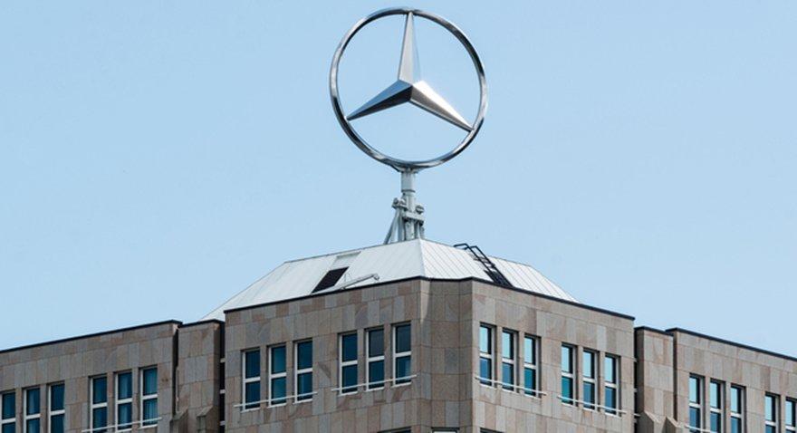Mercedes'in sahibi Daimler'in ofisinde arama!