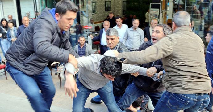 Kızılay'da polis müdahalesi