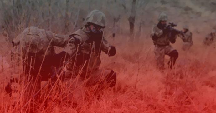 Tunceli'de el yapımı patlayıcı infilak etti!.. Yaralı askerler var!