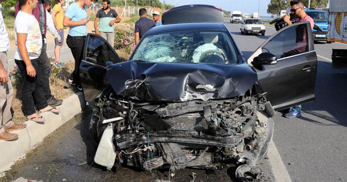 Devlet Bahçeli'nin konvoyunun geçişi sırasında kaza