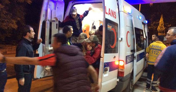 Rahatsızlanan çok sayıda asker hastaneye kaldırıldı