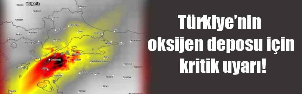 Türkiye'nin oksijen deposu için kritik uyarı!