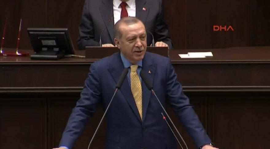 Erdoğan: Ettiniz ettiniz, etmediniz men dakka dukka