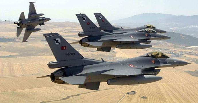 TSK'dan hava harekatı; 69 terörist…