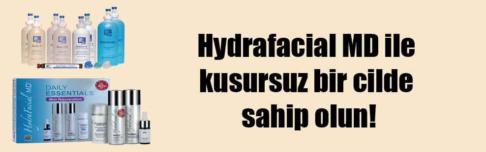 Hydrafacial MD ile kusursuz bir cilde sahip olun!