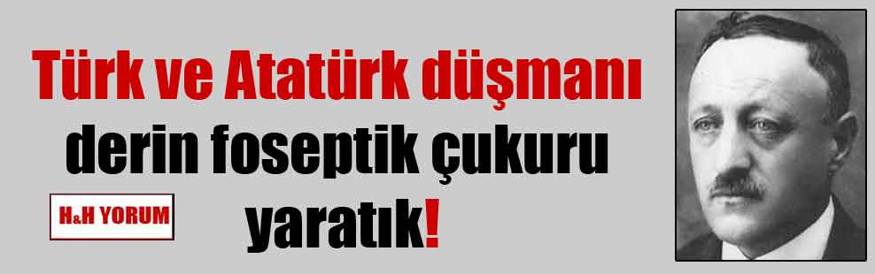 Türk ve Atatürk düşmanı derin foseptik çukuru yaratık!