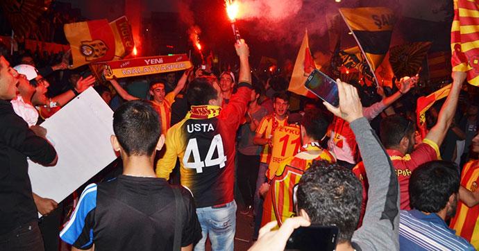 Malatya'da Süper Lig kutlamaları