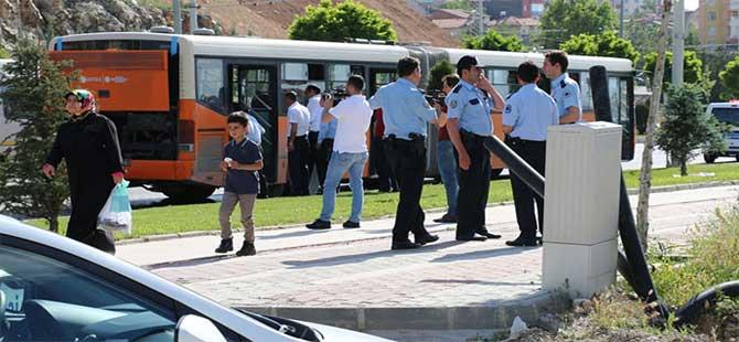 Belediye otobüsünde korkutan yangın: 5 yaralı