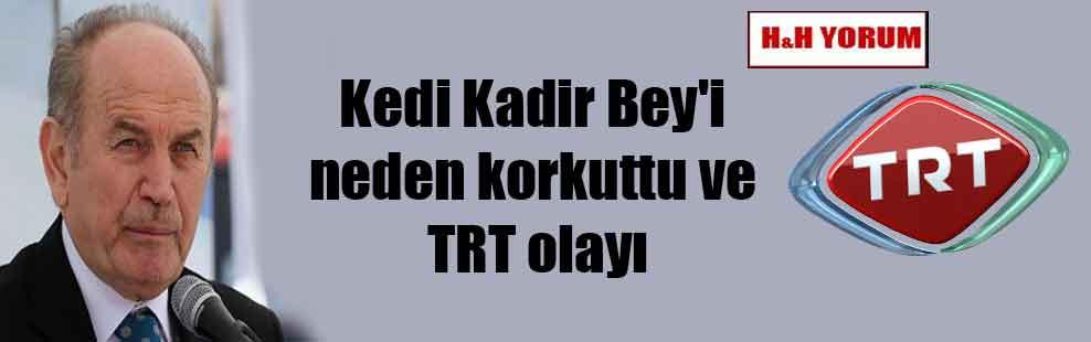 Kedi Kadir Bey'i neden korkuttu ve TRT olayı