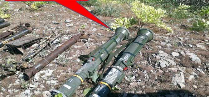 Şırnak'ta tanksavar füzesi ele geçirildi