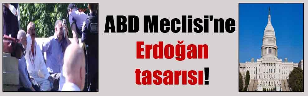 ABD Meclisi'ne Erdoğan tasarısı!
