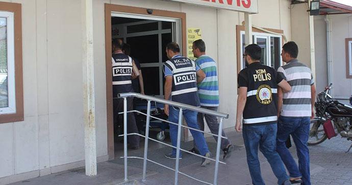 Osmaniye'de FETÖ operasyonu, 17 gözaltı