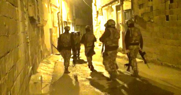Hava destekli DEAŞ operasyonu: 11 gözaltı