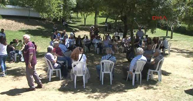 Maçka Parkı'nda 'Adalet Nöbeti' üçüncü gününde