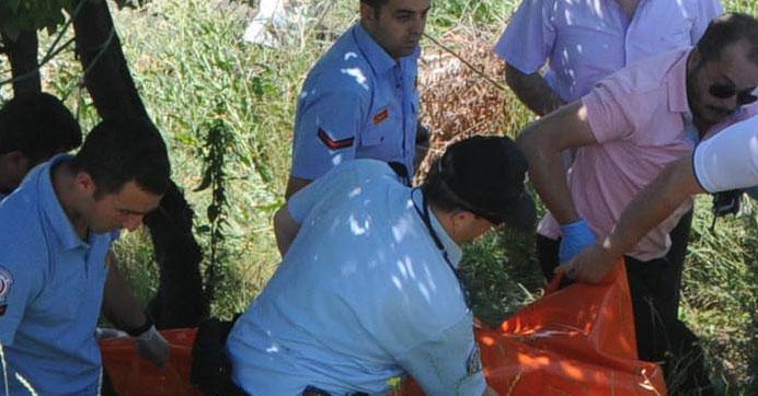 Sulama kanalında elleri bağlı erkek cesedi bulundu