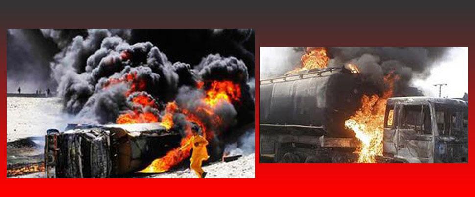 Pakistan'da yakıt tankeri faciası!.. Çok sayıda ölü var!