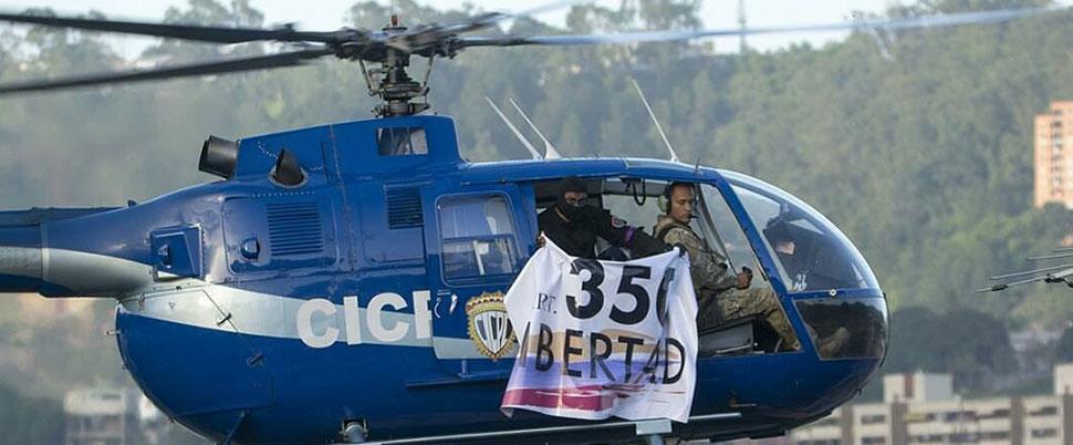 Venezuela'da Yüksek Mahkeme'ye helikopterli saldırı