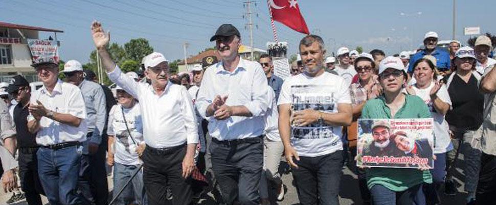 Kılıçdaroğlu, Rabia işareti yapanlara teşekkür etti