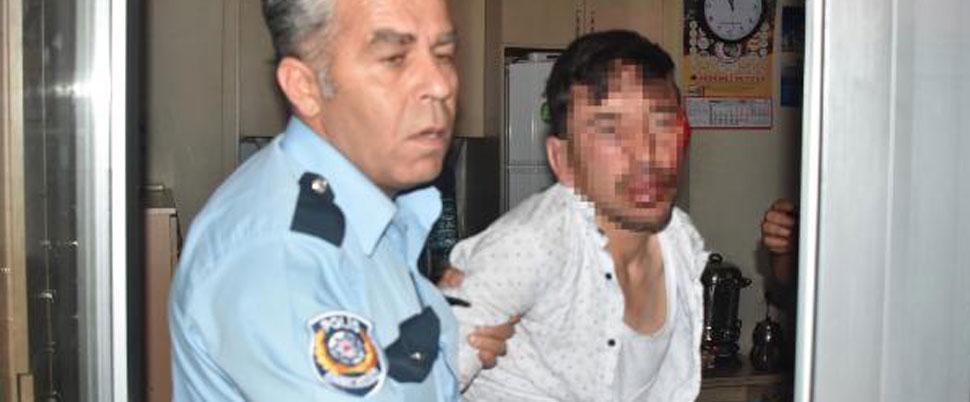 Linç ediliyordu, tacizden tutuklandı!