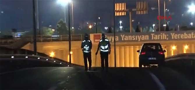 Avrasya tünel çıkışında feci kaza, 1 ölü