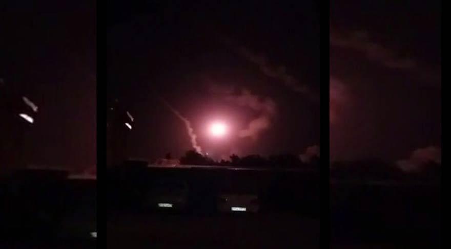İran'dan Suriye'de misilleme: Füzelerle vurdular