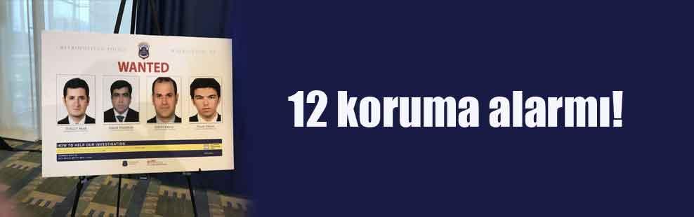 12 koruma alarmı