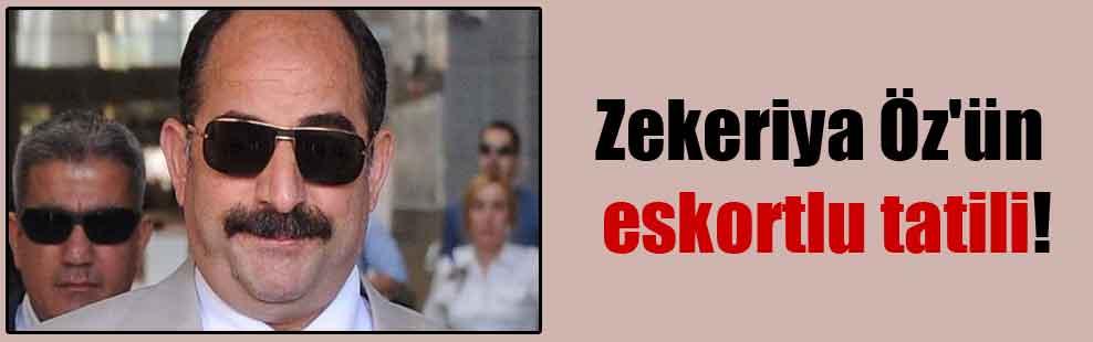 Zekeriya Öz'ün eskortlu tatili!