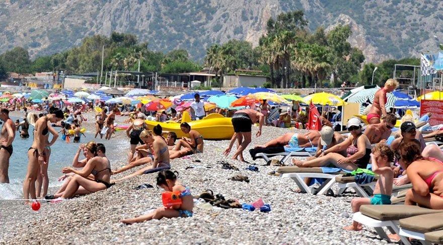 Turist sayısı Mayıs'ta 16.3 yükseldi!