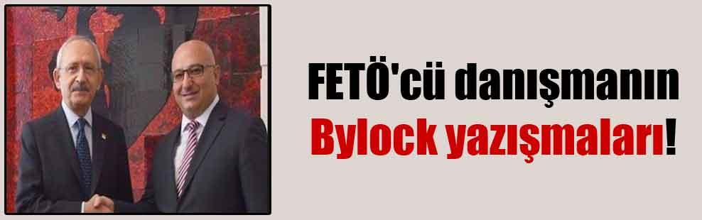 FETÖ'cü danışmanın Bylock yazışmaları!