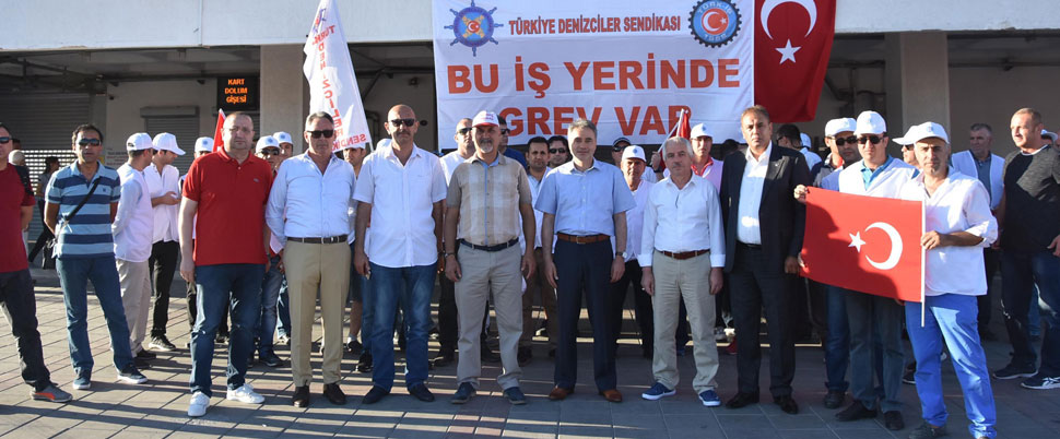 '66 yıllık tarihimizde ilk kez bir greve gidiyoruz'