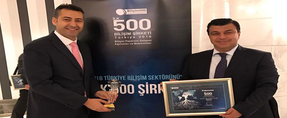 TeknoSA Bilişim 500'de 2 ödül aldı