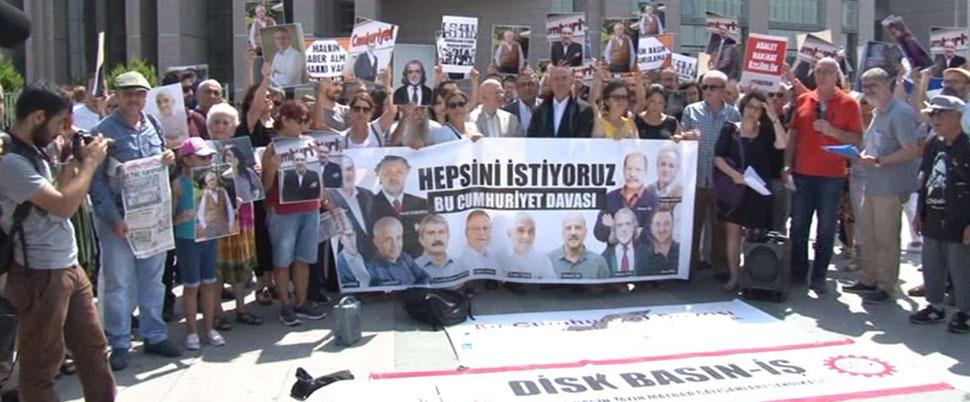Cumhuriyet Gazetesi davasında 4. gün