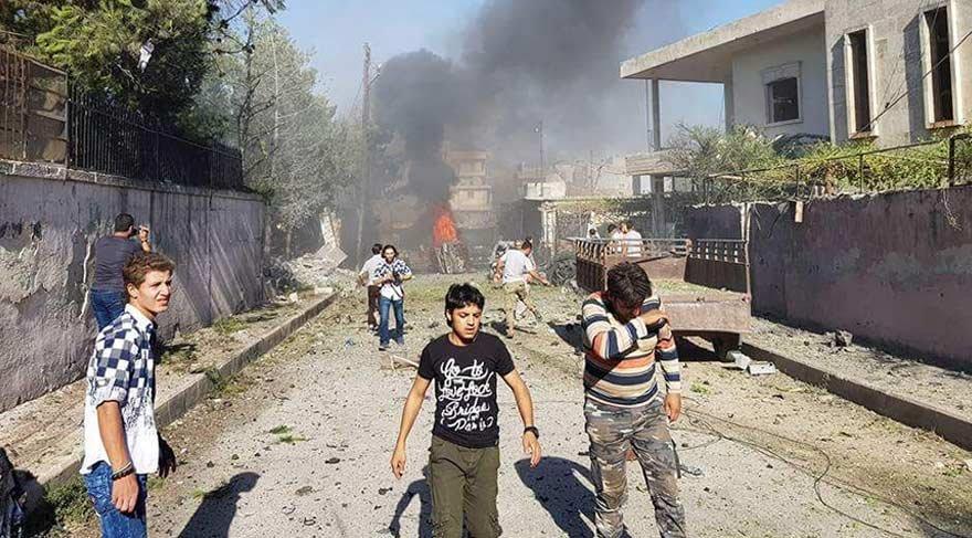Azez'de bombalı saldırı! Ölü ve yaralılar var…
