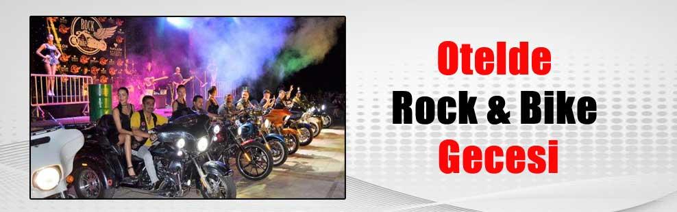 Otelde Rock & Bike Gecesi