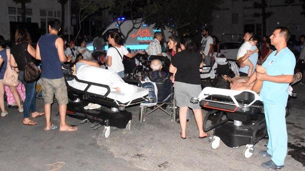 Bodrum Devlet Hastanesi'nin acil servisi boşaltıldı!