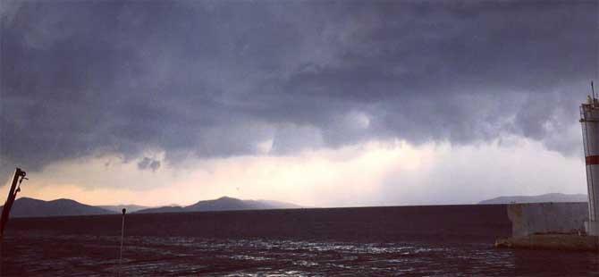 Meteoroloji'den fırtına ve kuvvetli yağış uyarısı!
