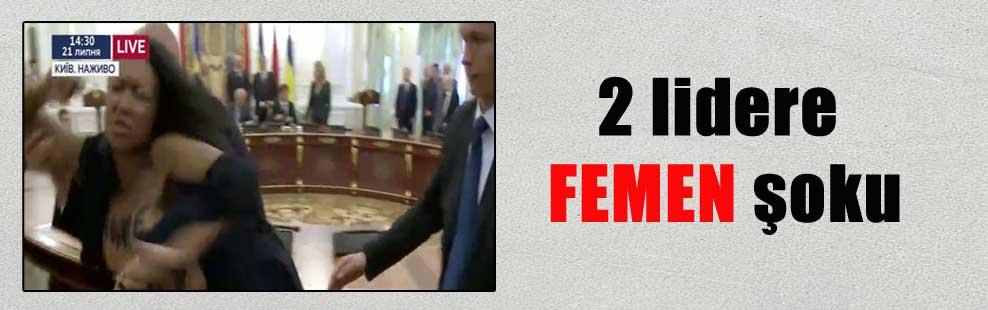 2 lidere FEMEN şoku