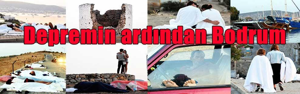 Depremin ardından Bodrum