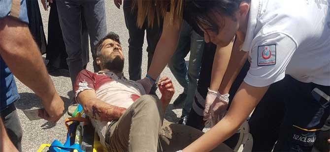 PKK'lı teröristler, konvoya saldırdı!