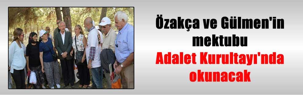 Özakça ve Gülmen'in mektubu Adalet Kurultayı'nda okunacak