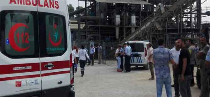 Adana'da patlama! 1 işçi öldü